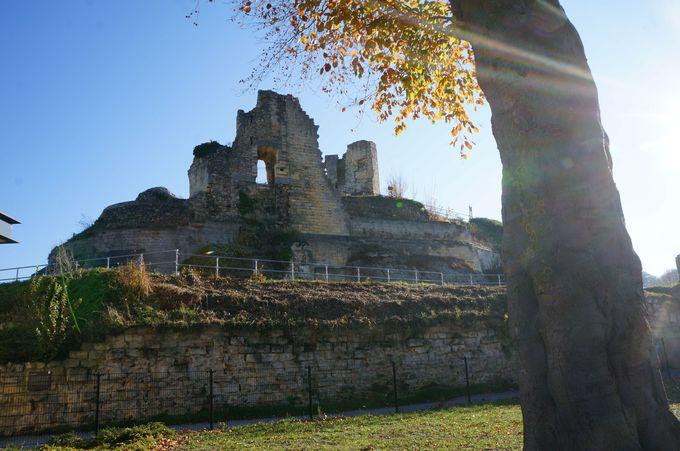 廃城で争いの歴史に思いを馳せてみる?ファルケンブルグ城