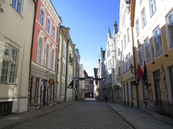 ここがヨーロッパの出島 上の街と下の街