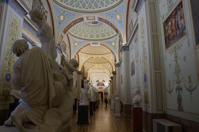 世界四大美術館、迷宮のエルミタージュ美術館