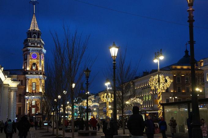 新しくて近い街、サンクトペテルブルク