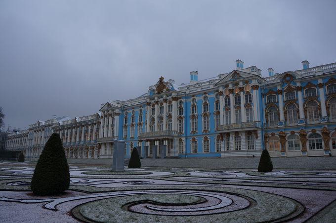 ミステリの風漂う琥珀の間、エカテリーナ宮殿