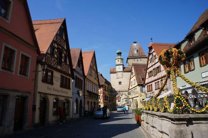 中世の逸話たっぷり!なぜひとはローテンブルクを愛するのか