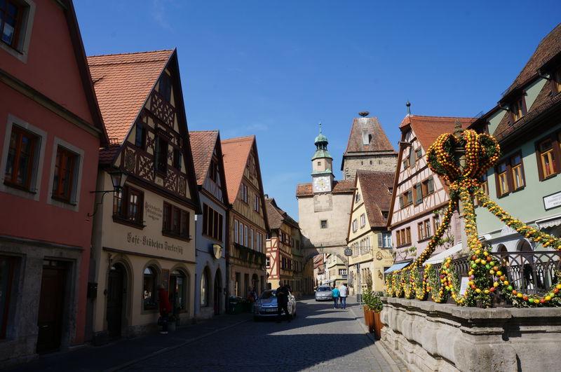 ドイツの可愛い観光地と言えば!ローテンブルクの歴史散歩