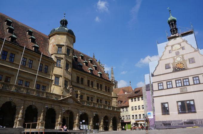 哀しみと喜びのローテンブルク歴史散歩「聖ヤコブ教会」