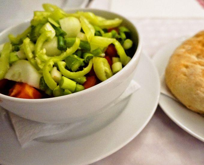 とっても簡単!地中海風のサラダ