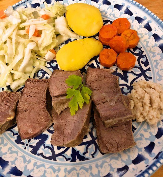 肉料理なのにさっぱり美味しい!ターフェルシュピッツェ