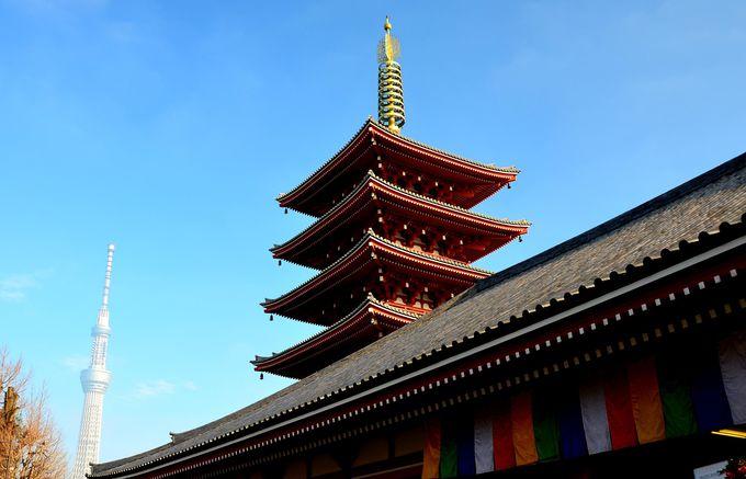 待乳山聖天様参詣後はご本山浅草寺参詣がおすすめ