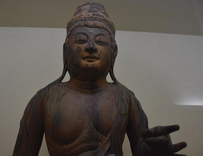 霊験あらたか、平安時代の聖観音菩薩様(重要文化財)