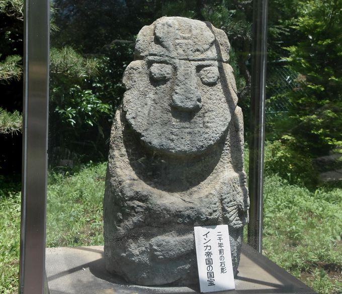 不思議なインカ帝国の石像と2000万年前のウッドオパールにもびっくり