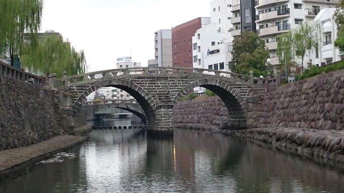 観光名所・眼鏡橋からすぐ近く