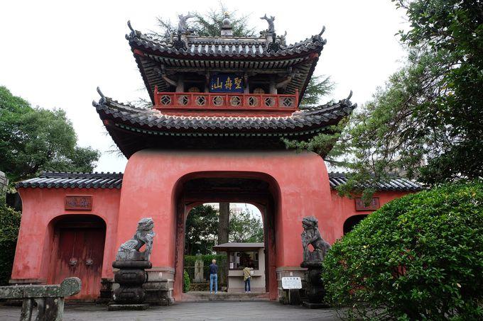 大河ドラマ「龍馬伝」のロケ地で有名な崇福寺には国宝が2つも!