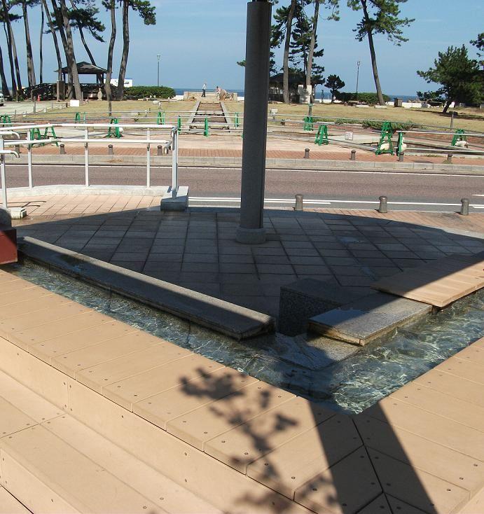 無料で楽しめる観光スポット♪皆生温泉の足湯をチェック!