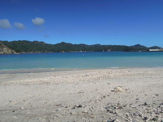 港近くの大村海岸で最初の海を楽しもう