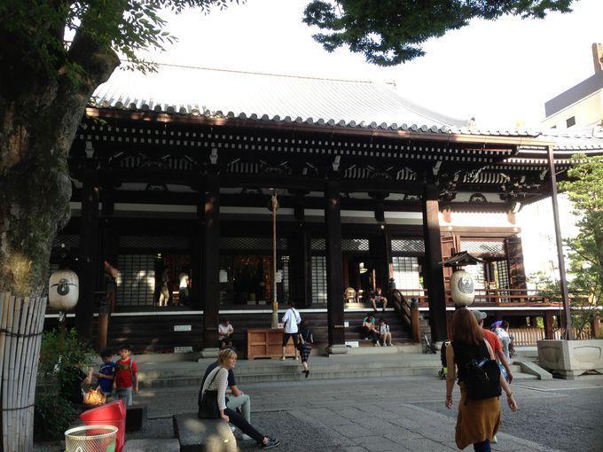 再建を繰り返してきた本能寺の本堂