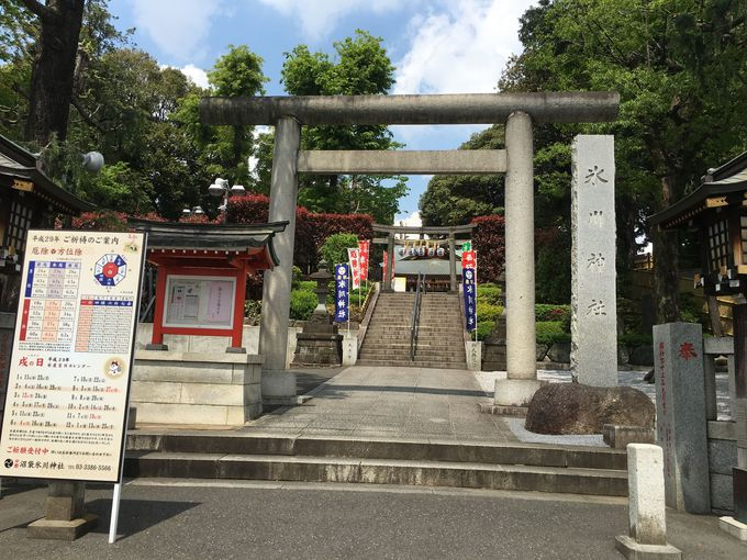 中野沼袋氷川神社へのアクセス方法!