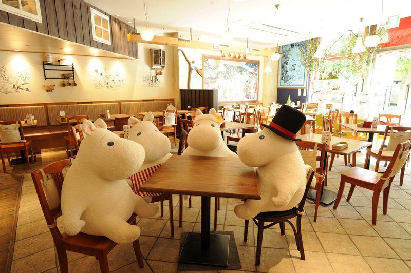 ムーミンの世界へ飛び込める!「ムーミンベーカリー&カフェ」東京ドームシティラクーア店で癒しの時間を!