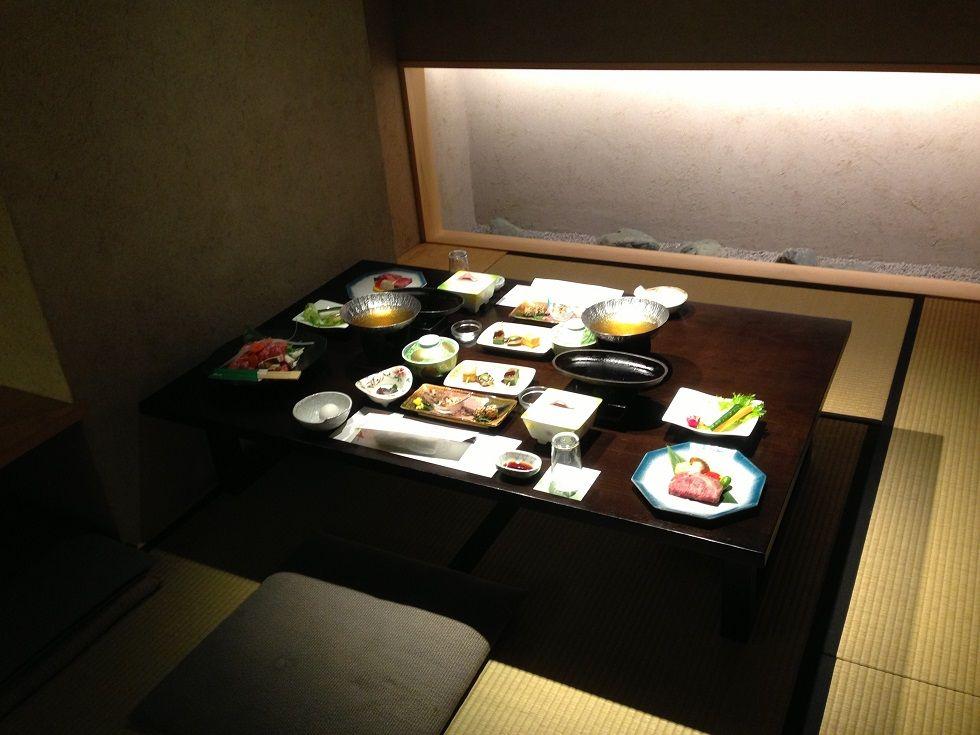 個室でいただく贅沢ご飯!