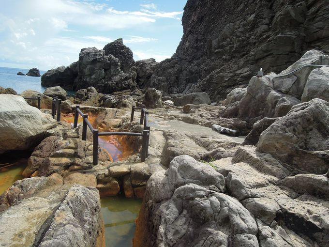 4.地鉈温泉(式根島)
