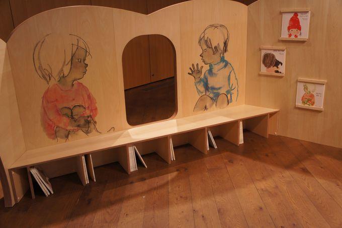 子供も楽しい「絵をみるための遊具」