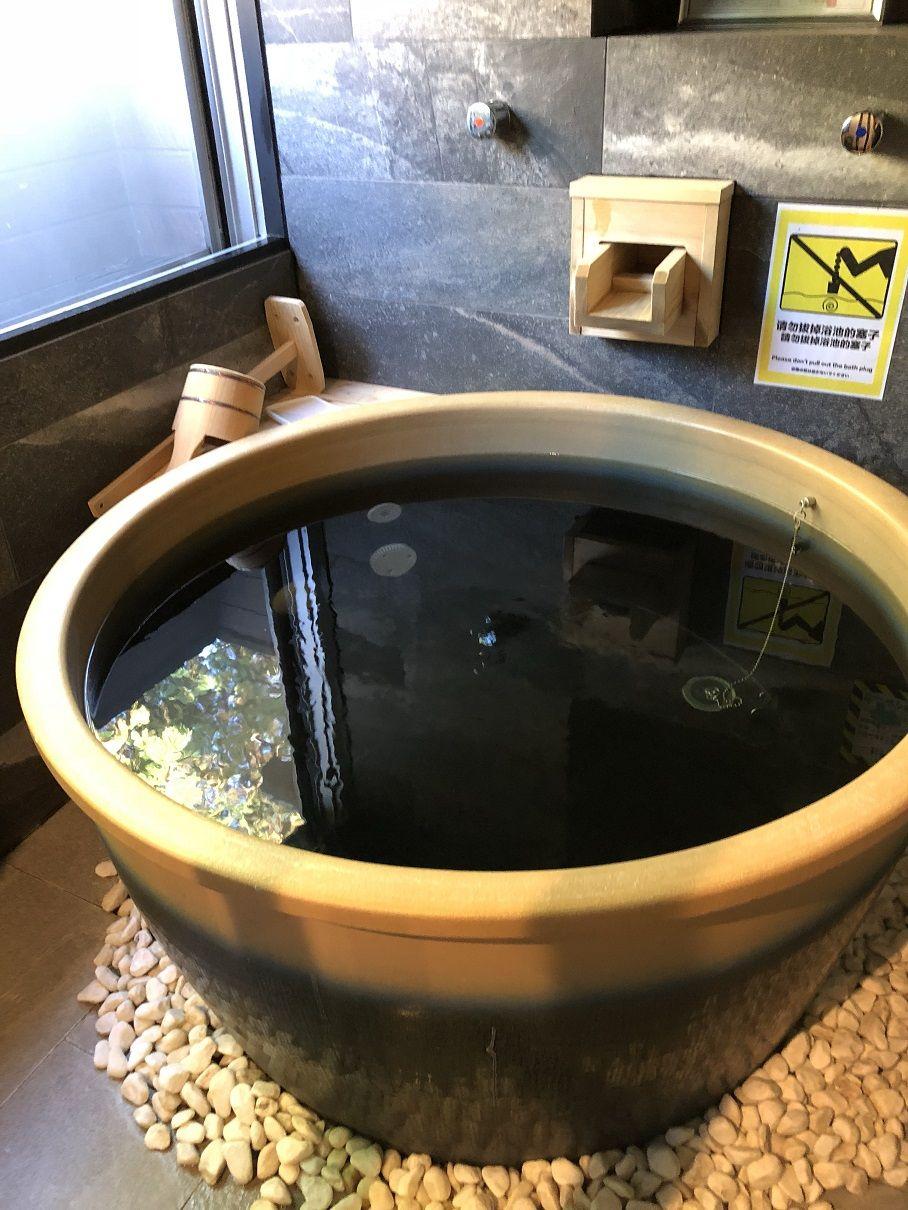 客室で思う存分温泉を満喫!
