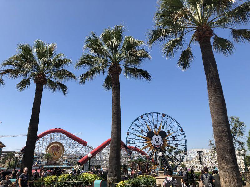 カリフォルニア ディズニーランド・リゾートのシンボル!観覧車「ピクサー・パル・ア・ラウンド」