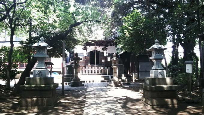 眺めは旧東海道一「八景・天祖神社」