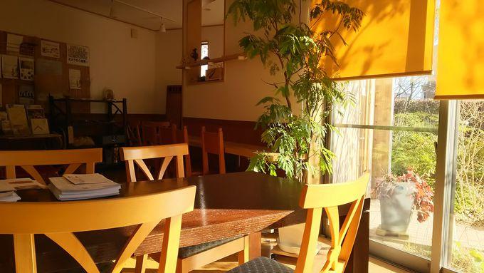 陶板浴の後は喫茶室でリラックス