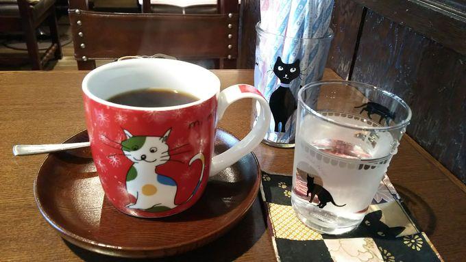 昔懐かしい喫茶店「ル・プリーベ」で猫と出会う