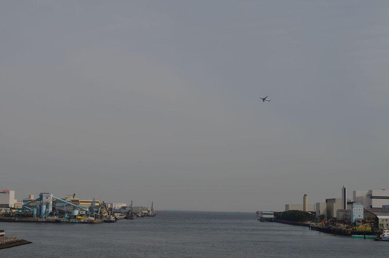 B滑走路が目の前!羽田空港に一番近い人工島「京浜島」
