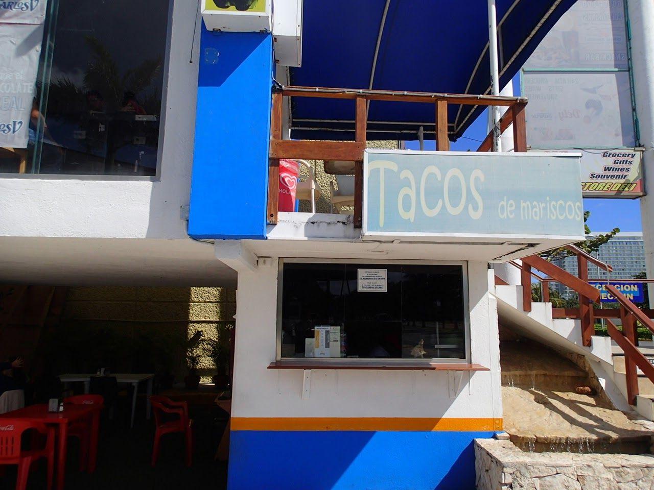 シーフードが絶品のTacos de mariscos