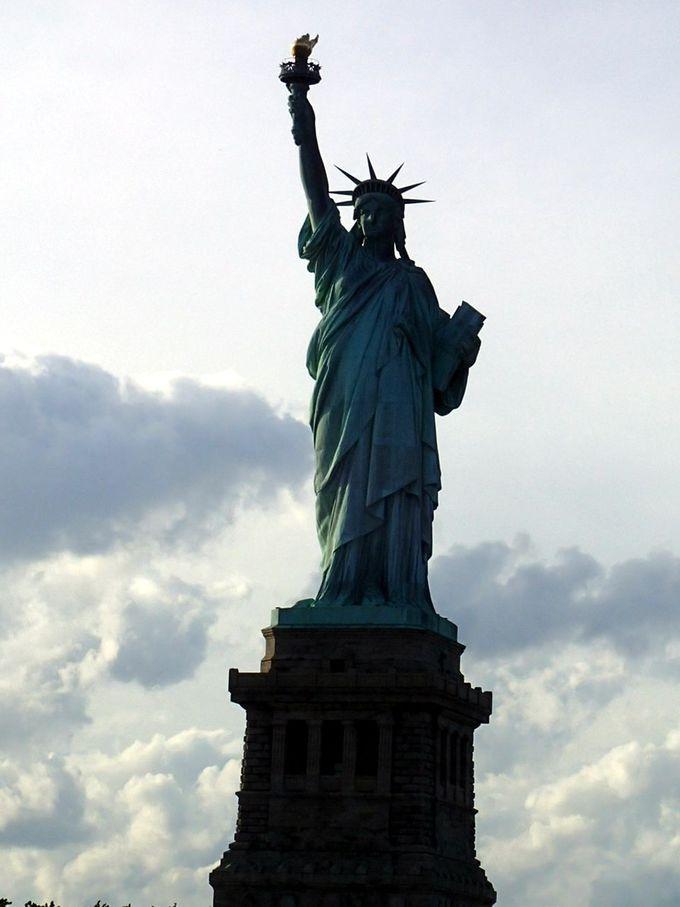 一度は見ておきたい「自由の女神」