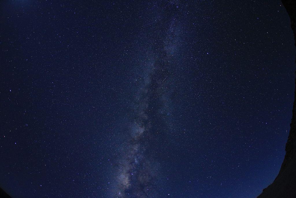標高3,000メートル付近で満天の星空観測