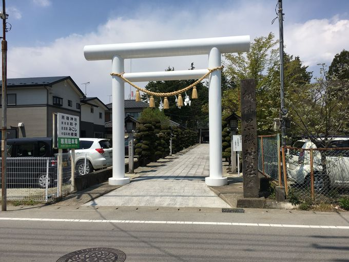 日本でも珍しい「手足の神様」がいる黒磯神社