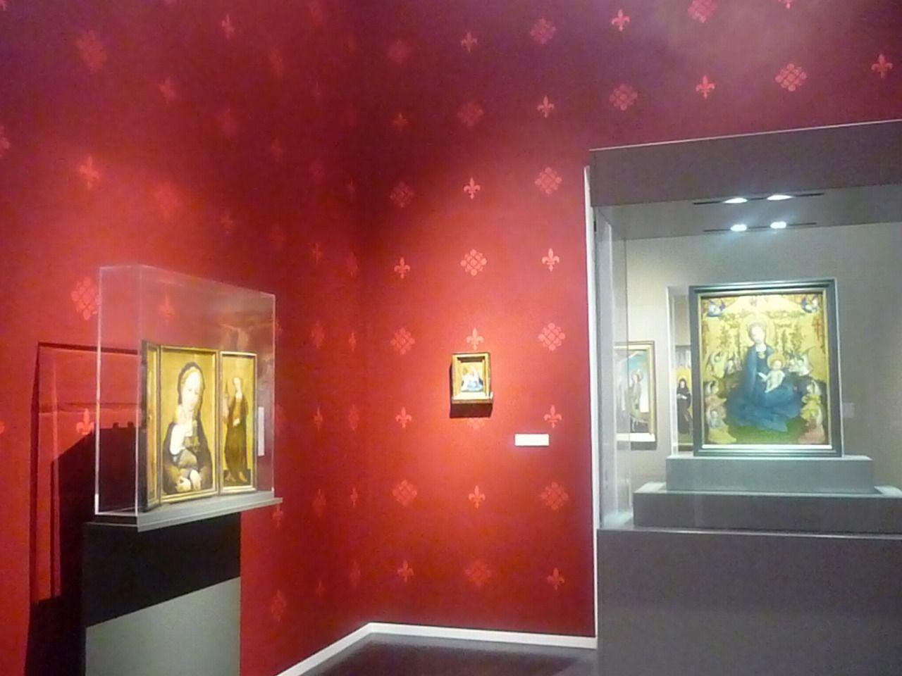 ケルンの大聖堂でも有名なシュテファン・ロッホナーの作品も