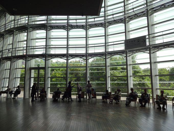 建築、壁、窓…国立新美術館の建物に隠されたたくさんの工夫