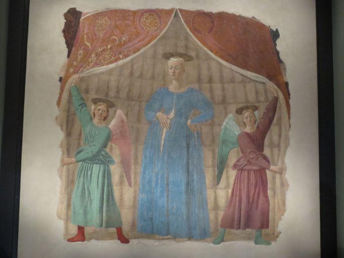 神秘的で厳かな「出産の聖母」が!モンテルキの小美術館
