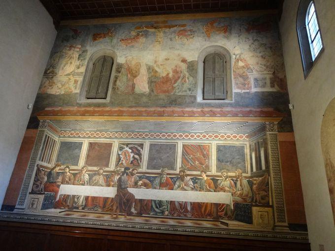 初期ルネサンスの大画家の壁画を堪能!サンタポッローニア修道院