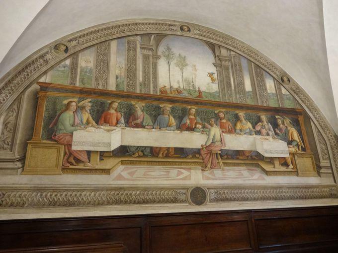 ペルジーノの「最後の晩餐」が圧巻!フリーニョ修道院美術館
