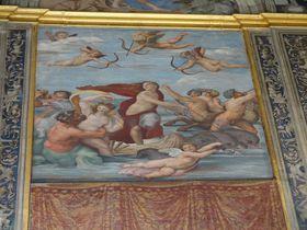 魅力溢れる美しい内装にラファエロの壁画…伊・ローマ「ファルネジーナ荘」の見どころ4選