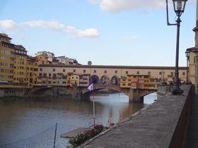 意外な場所に驚きと発見!!伊・フィレンツェ市内の「橋」のひみつ