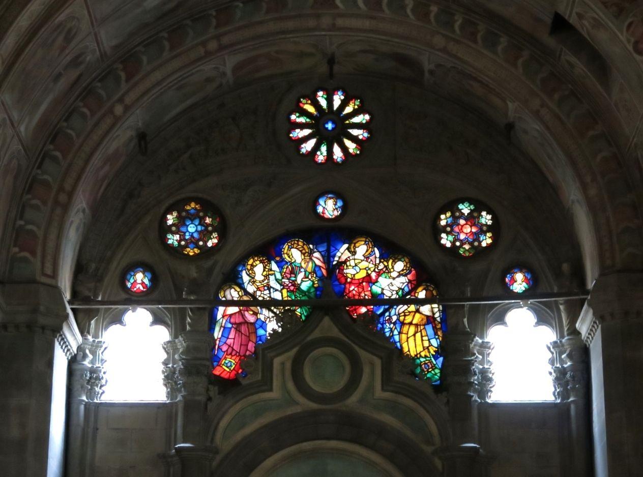 可愛いバラ窓にご注目!オルサンミケーレ教会