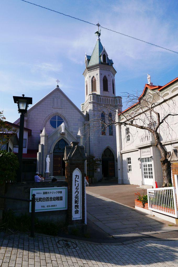 堂々とした外観、壮麗な内部…カトリック元町教会