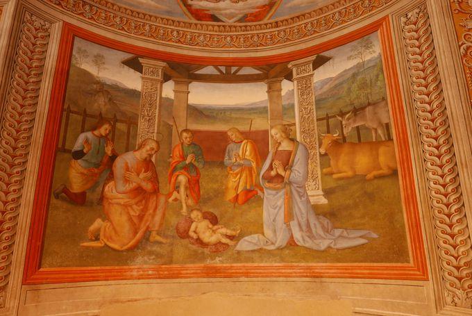 見学に欠かせない!市立美術館は貴重なフレスコ画の宝庫