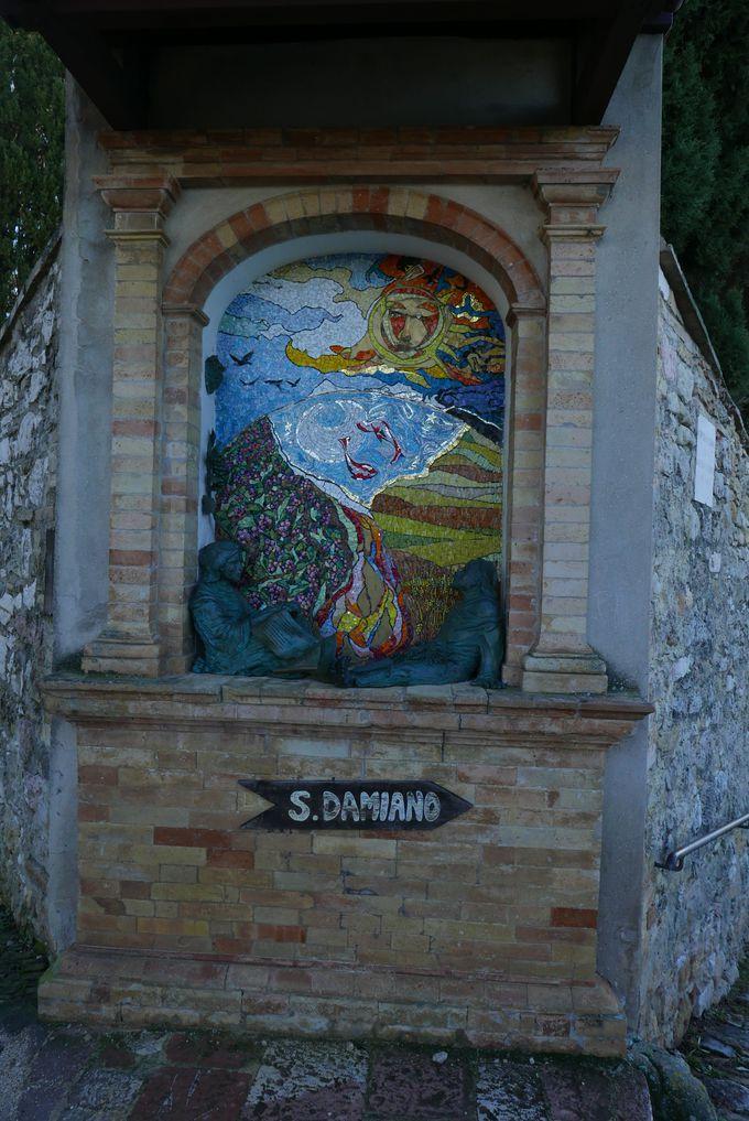 サン・ダミアーノ修道院って?