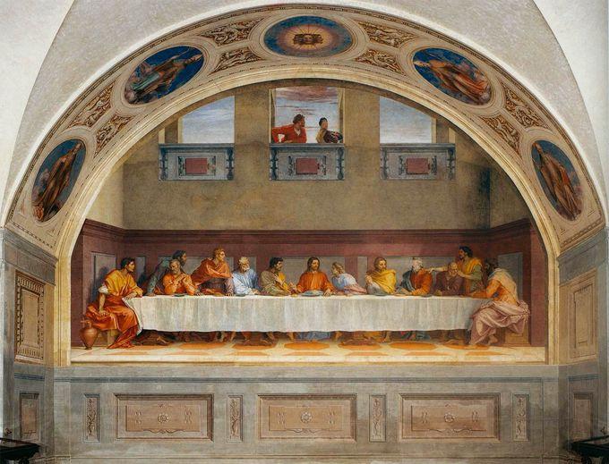 500年前の迫力が健在!A.サルト「最後の晩餐」
