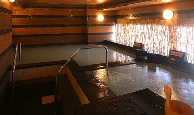 種類が豊富で使いやすい大浴場「なごみの湯」