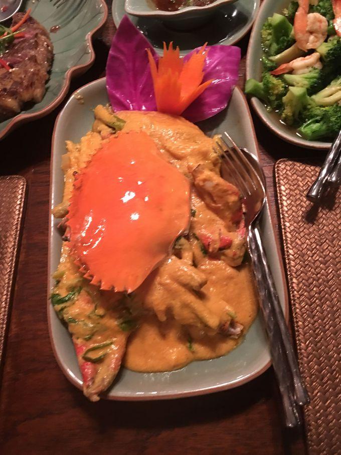 美味しい蟹カレーが食べたい!