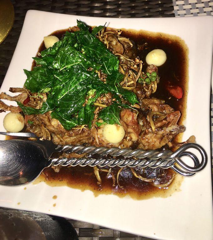 コンテスト受賞のタイ料理とベジタリアン料理