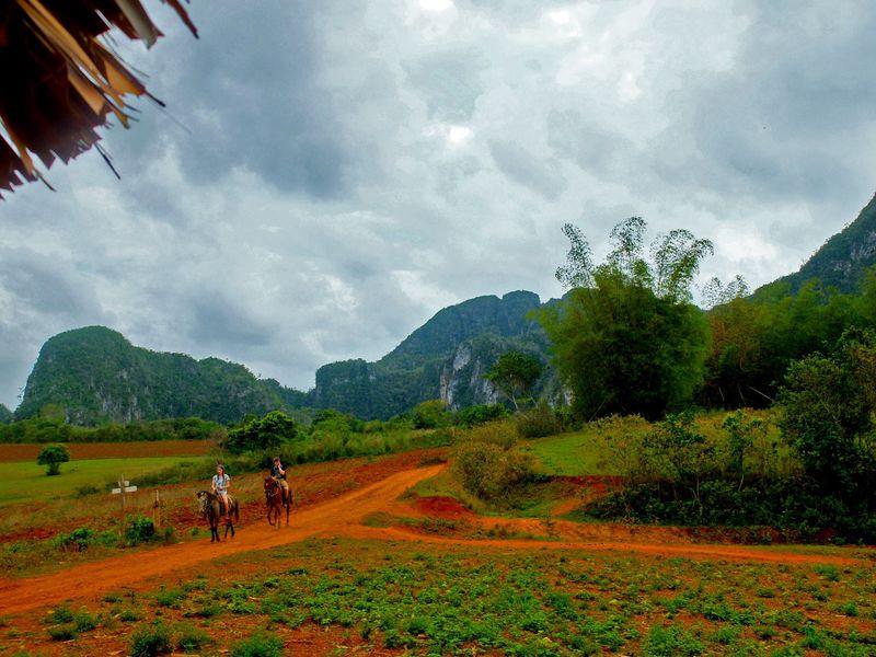 """キューバの""""THE・農村風景""""世界遺産ビニャーレス渓谷は馬で巡るのが断然おすすめ!"""