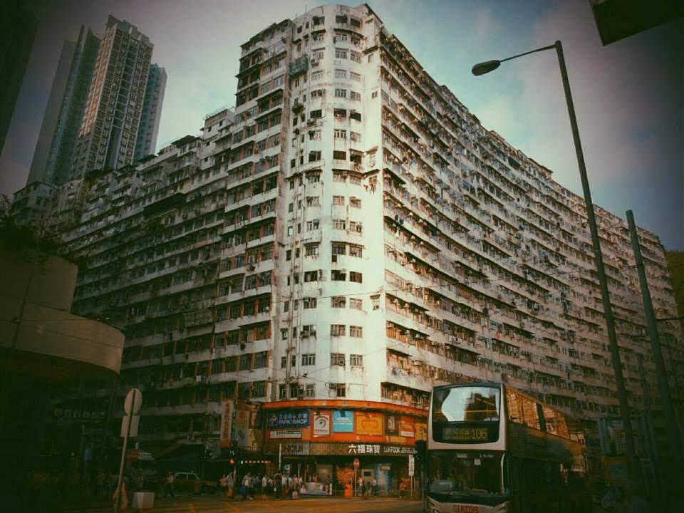 太古にある生きた雑居ビル